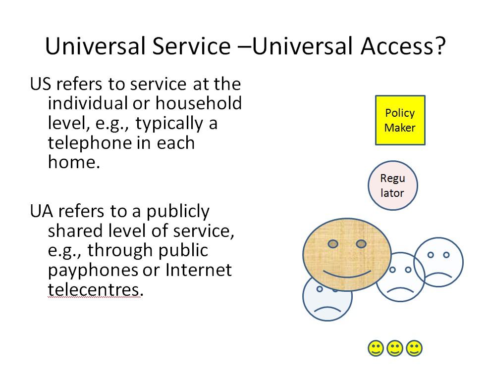 A kicsi sárgák a felhasználók, akik azért nem mindig mosolyognak